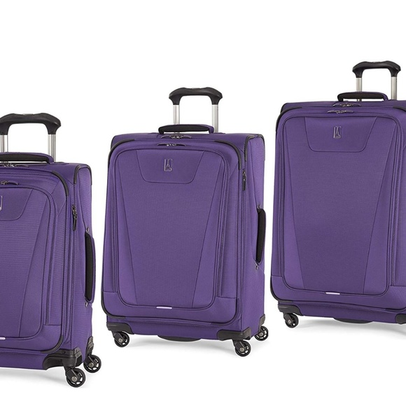 Travelpro Maxlite 4 2 Piece Set of 21 and 25 Spinner Purple